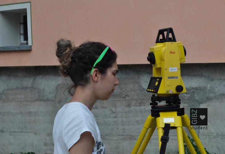 ZFI 3 – Vermessungskurs 2014 in Roveredo