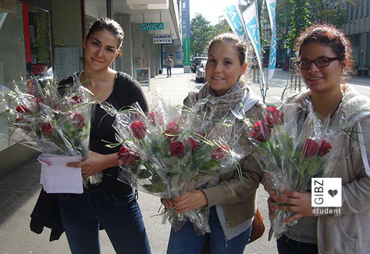 Rosen schenken