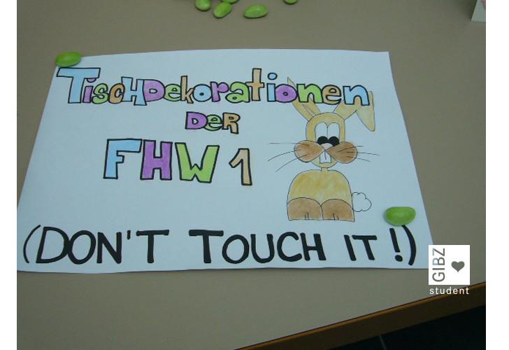 Tischdekorationen FHW1
