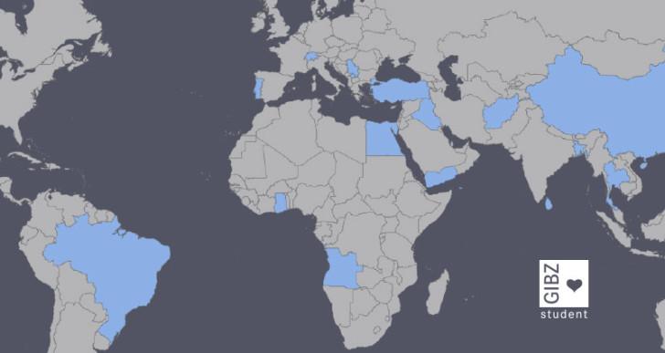 22 Lernende aus 16 Herkunftsländern