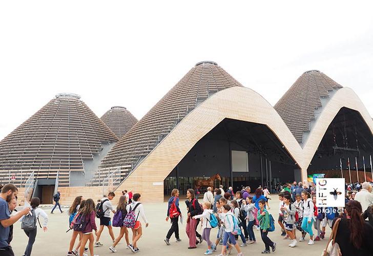 Die HFTG besucht die Expo