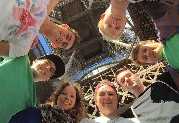 Fachexkursion der SR4 in Paris
