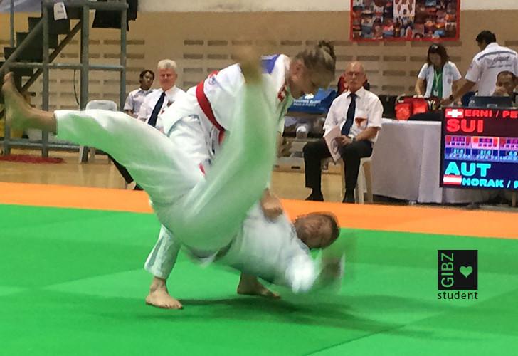 Ju-Jitsu WM-Bronze für Sportlehrerin Antonia Erni