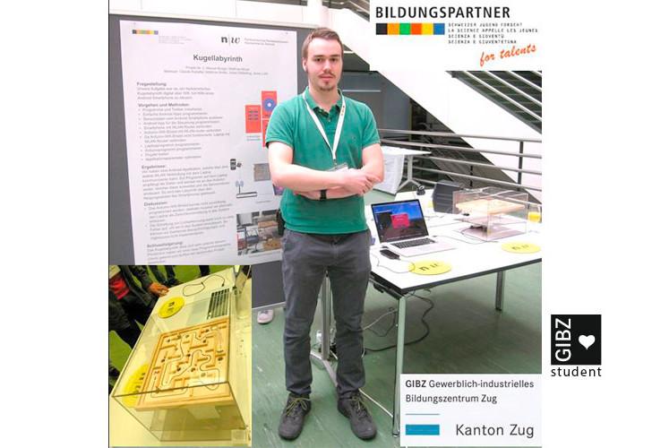 """Studienwoche Schweizer-Jugend-forscht (SJf) """"Faszination Informatik"""""""