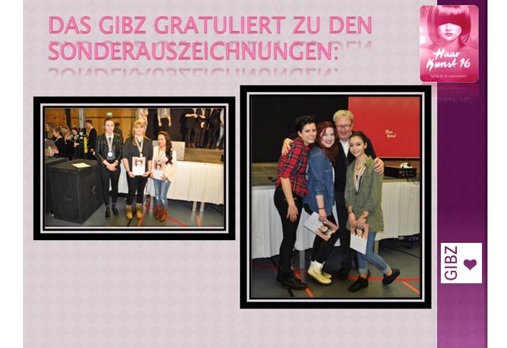 Haar Kunst 16 – Zentralschweizer Coiffeur-Event mit GIBZ-Lernenden
