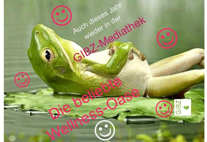 Wellness-Oase in der GIBZ Mediathek
