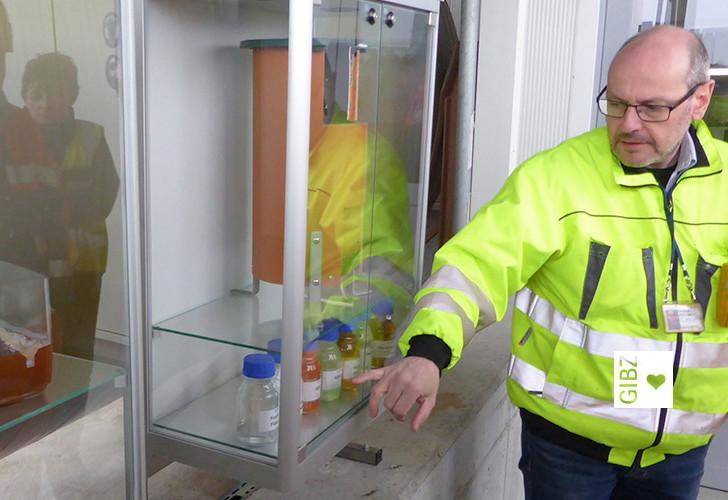 Die Entwässerungspraktiker- und Technologen zu Gast bei der Airfield Maintenance Flughafen Zürich