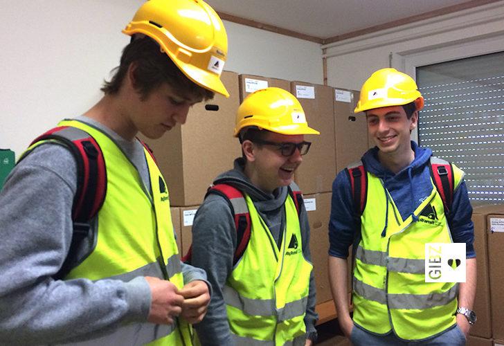 Exkursion ins Innere eines Jahrhundertbauwerks – die Klasse ZFI4 im neuen Gotthard-Basistunnel