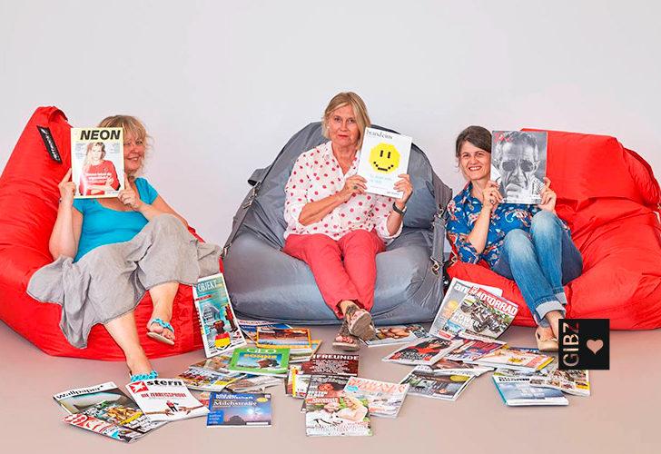 Der neue Zeitschriften-, Lern- & Arbeitsraum in der Mediathek ist eingerichtet!