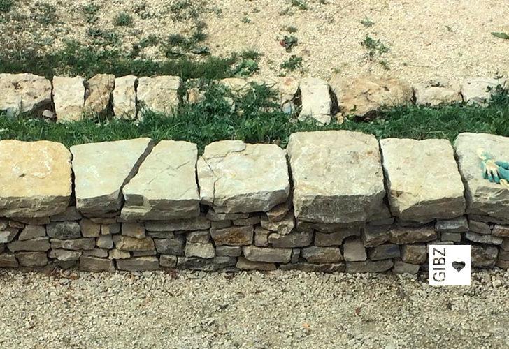 Projektwoche Trockenmauerbau : Tag 3