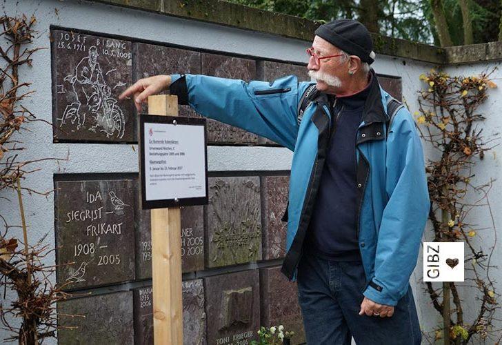 Friedhofführung der anderen Art – die INFA3B unterwegs mit Bruno Birrer