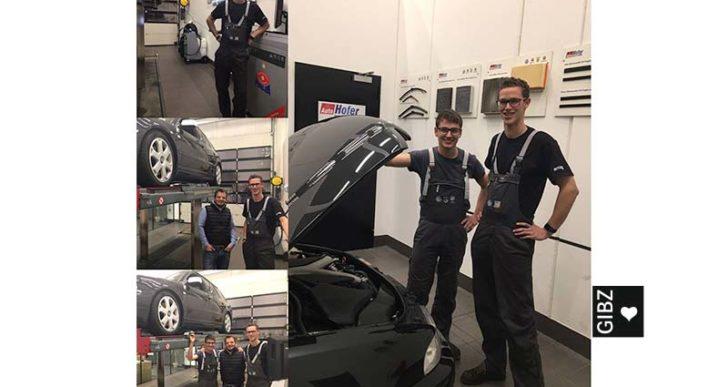 Erster Automobilmechatroniker im Auslandspraktikum