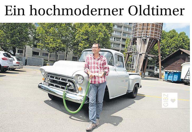 Elektro-Chevrolet Pick-up als Solarstromspeicher? Geht das?