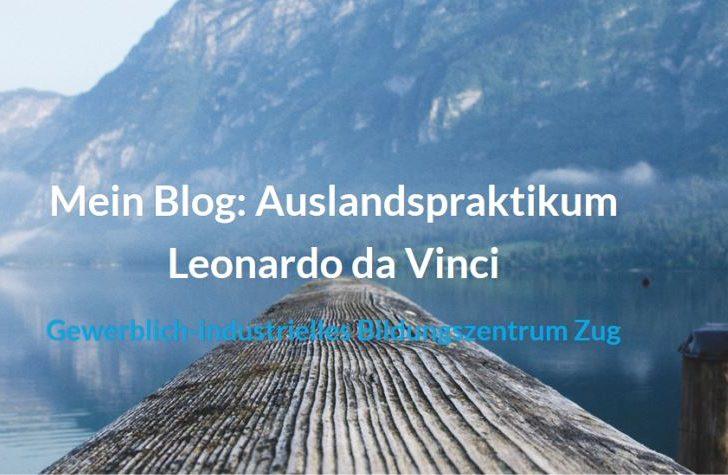 Auslandspraktikum Leonardo da Vinci : der Kilometer fressende Blogger