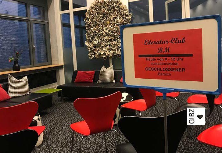 BM-Literaturclub in der Mediathek – wo sonst!?