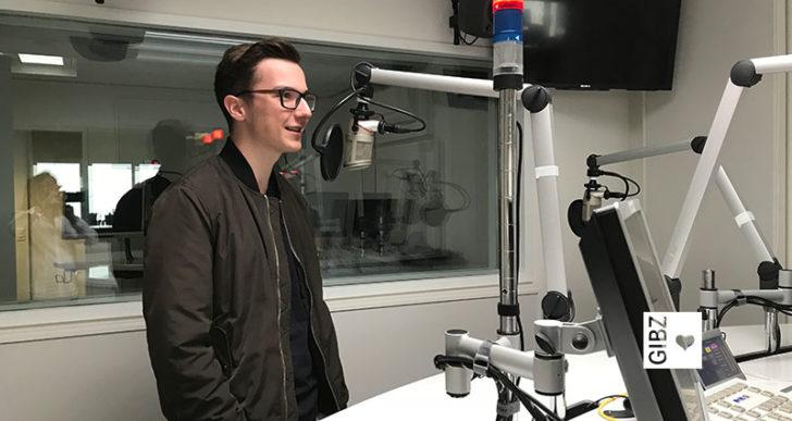 Raoul on air bei Radio Central & Radio Sunshine