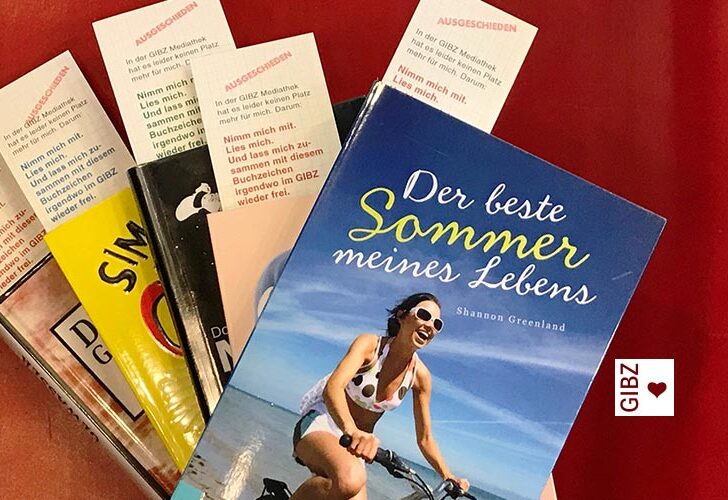 AUSGESCHIEDEN – nimm mich mit! Sommeraktion der GIBZ Mediathek
