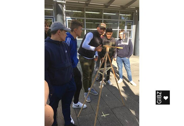 Höhere Fachschule für Technik und Gestaltung (HFTG) meets Maurer