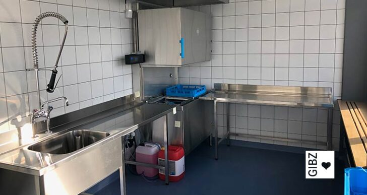 Nouvelle Cuisine#08 – die ÜK-Küche am GIBZ wird zur Ausbildungsküche umgebaut