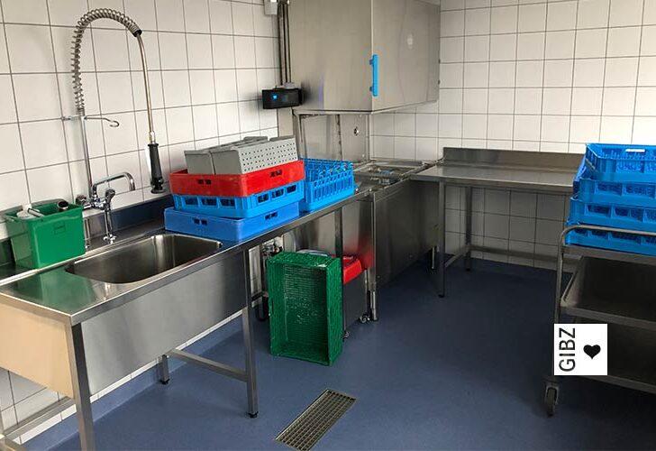 Nouvelle Cuisine#09 – die ÜK-Küche am GIBZ wird zur Ausbildungsküche umgebaut
