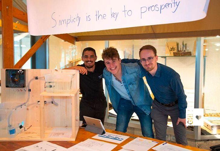 Brain & collab –  PEKA-Lernende aus drei Ländern entwickeln Prototypen