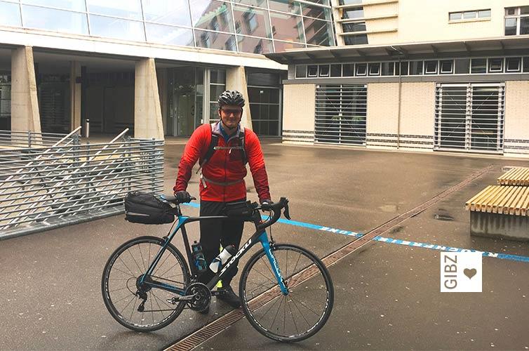 Tour des Alpes – Rennvelotour durch die Schweizer Alpen als Vertiefungsarbeit
