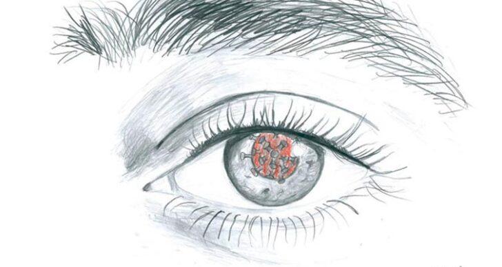 Surreal – im Auge der Corona-Pandemie : Zeichnungsprojekt der ZFA1
