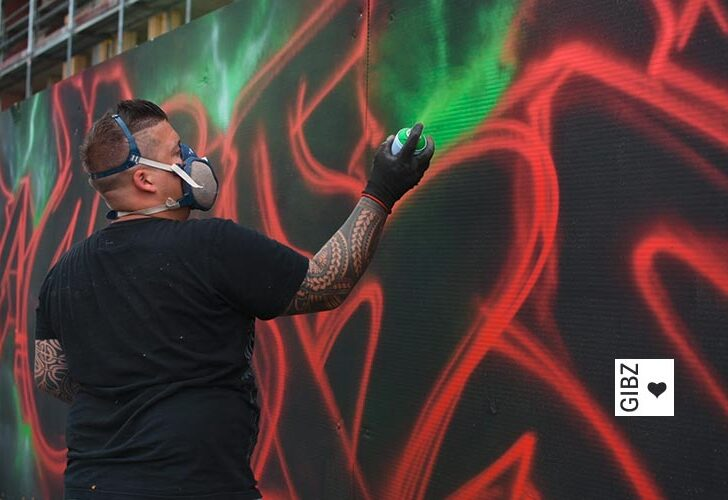 Vom Weltall zurück nach Zug: Graffiti-Projektwoche der ZFA3, Teil 2 Teil
