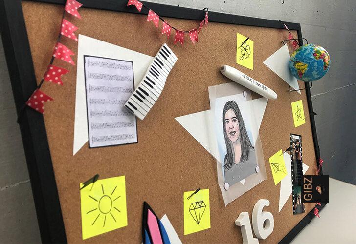 Das eigene Ich in 3D – Selbstporträts der ZFA1a im ABU-Unterricht