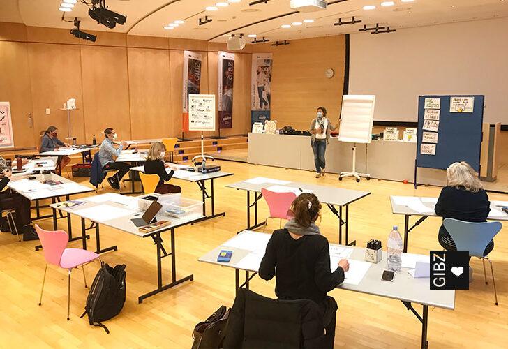 Weiterbildung von FAGEV und FAGEEB-Lehrkräften am GIBZ