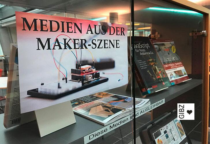 GIBZ Mediathek goes Makerspace