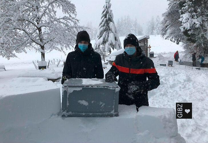S hät Schnee, juhee! – oder: Wie die ZFA3A Corona trotzt