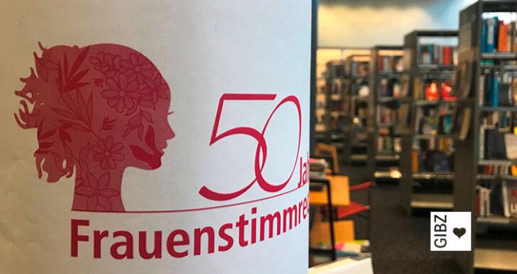 50 Jahre Frauenstimmrecht – Medienausstellung in der Mediathek