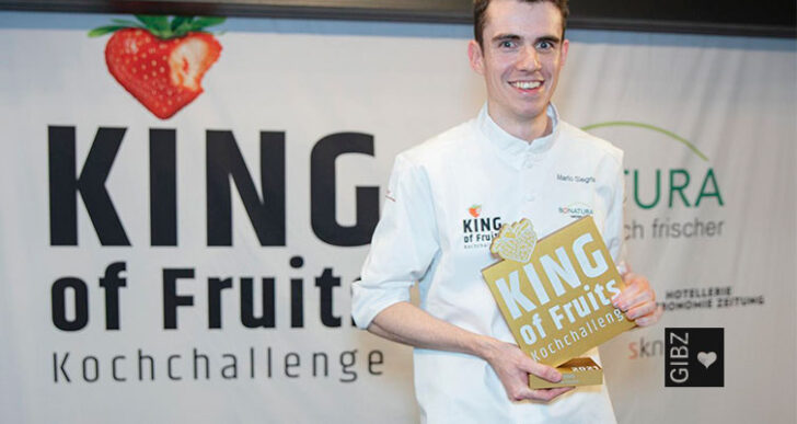 King of Fruits: Mario Siegrist, Koch-Lernender im 3. Lehrjahr am GIBZ
